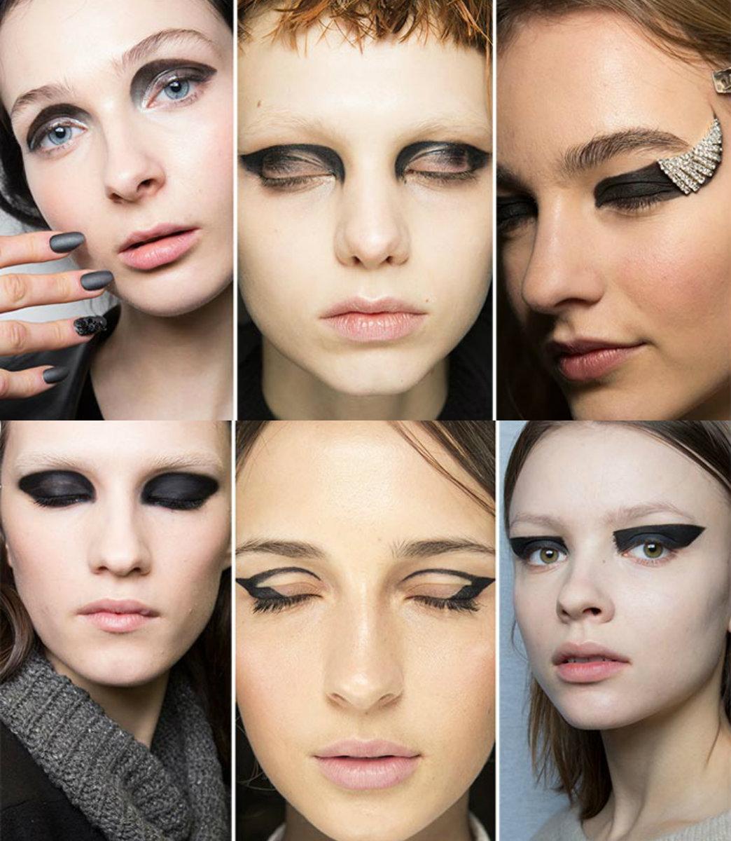 техникасмоки айз схема макияжа глаз