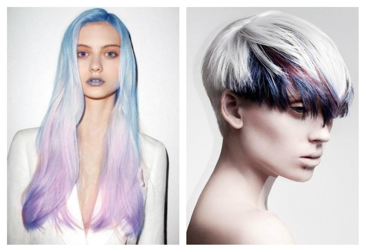 Цветные волосы уход
