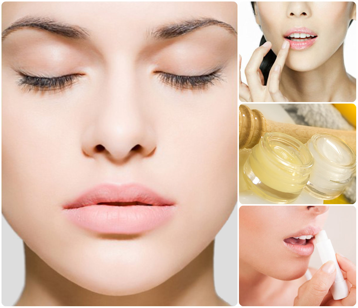 Как сделать губы увлажненными