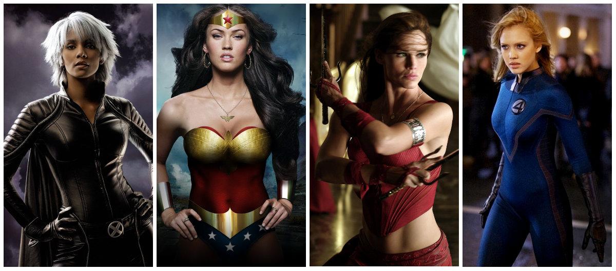 Самая сексуальная супергероиня