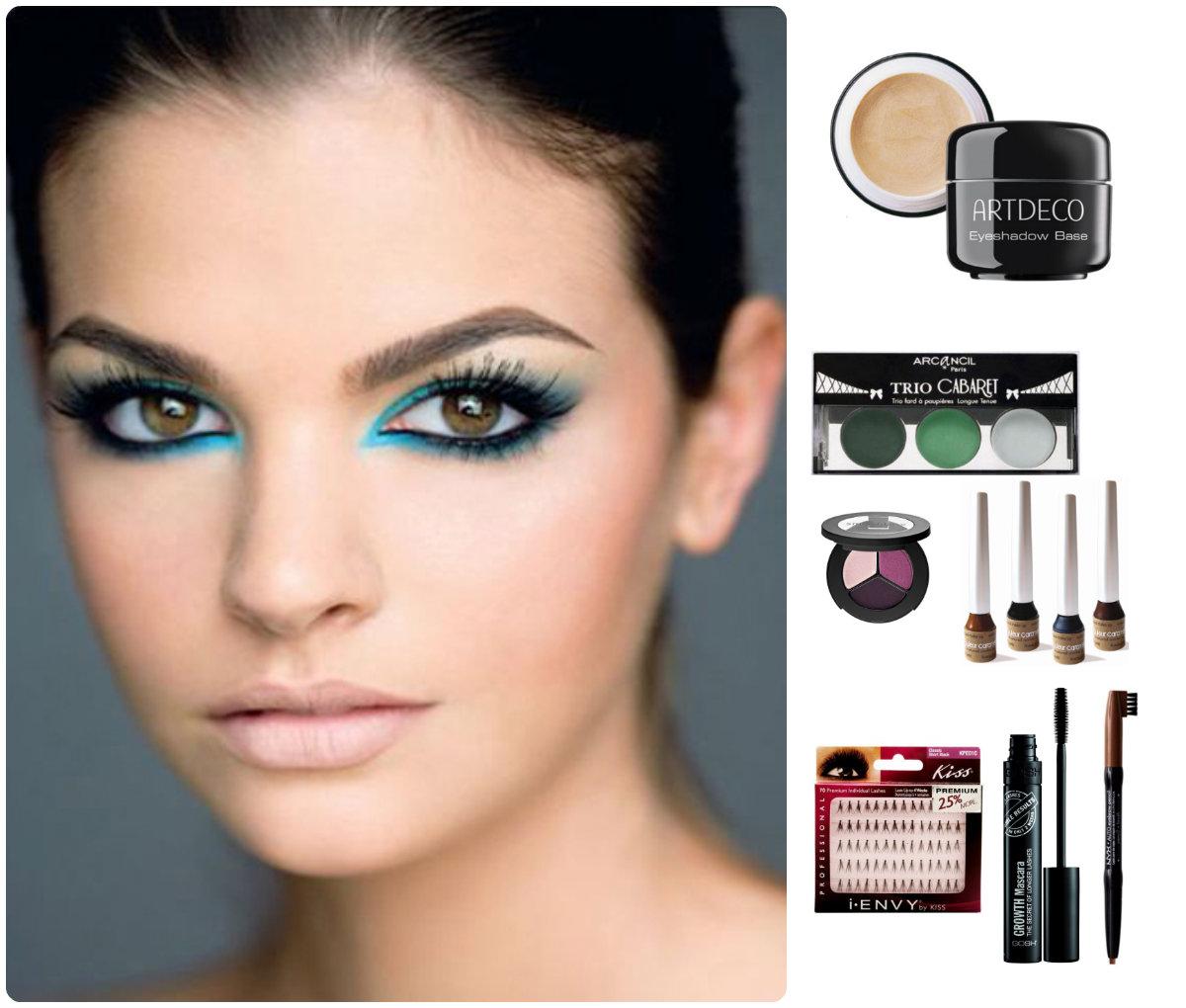 Как сделать вечерний макияж в домашних условиях для зеленых глаз 13