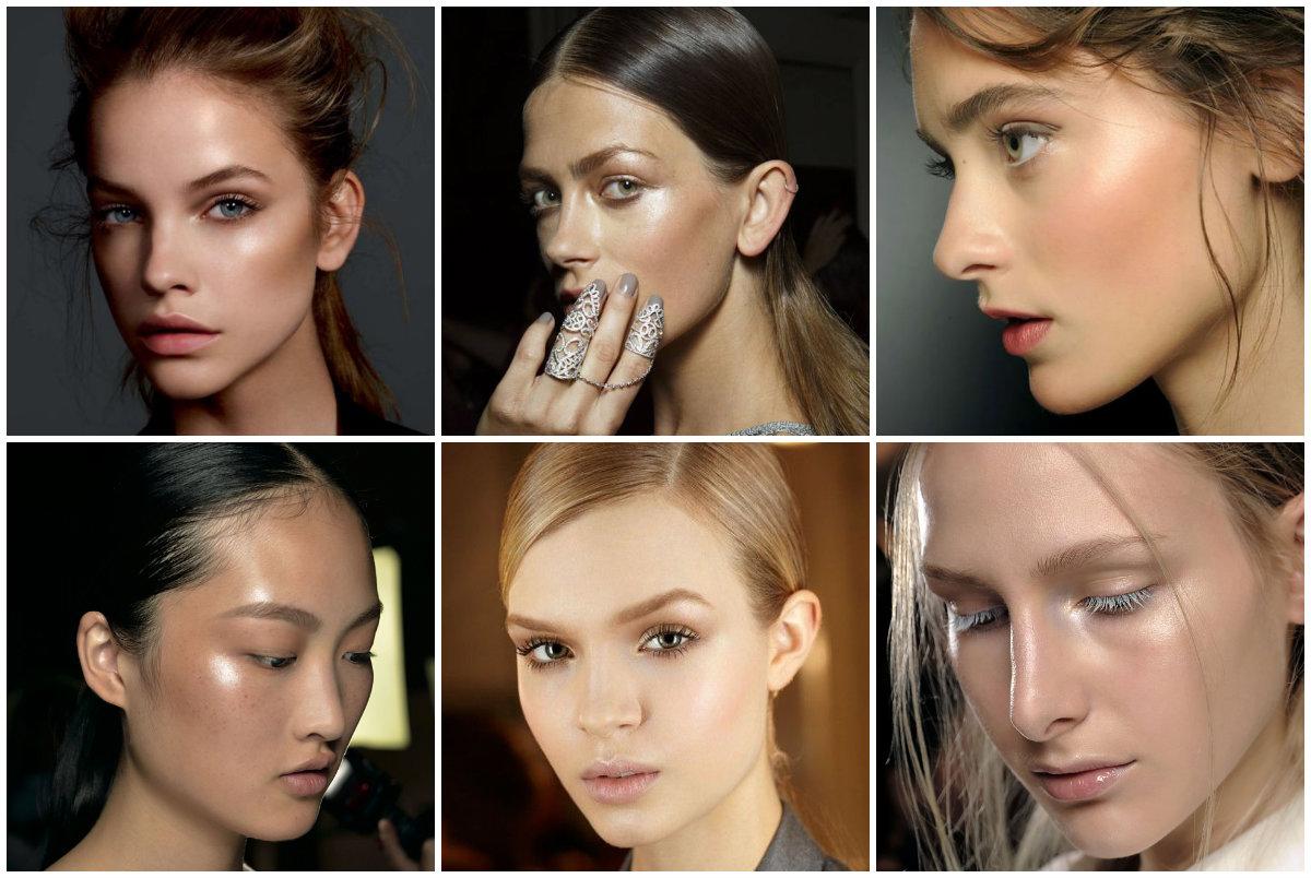 Стили макияжа и кожа