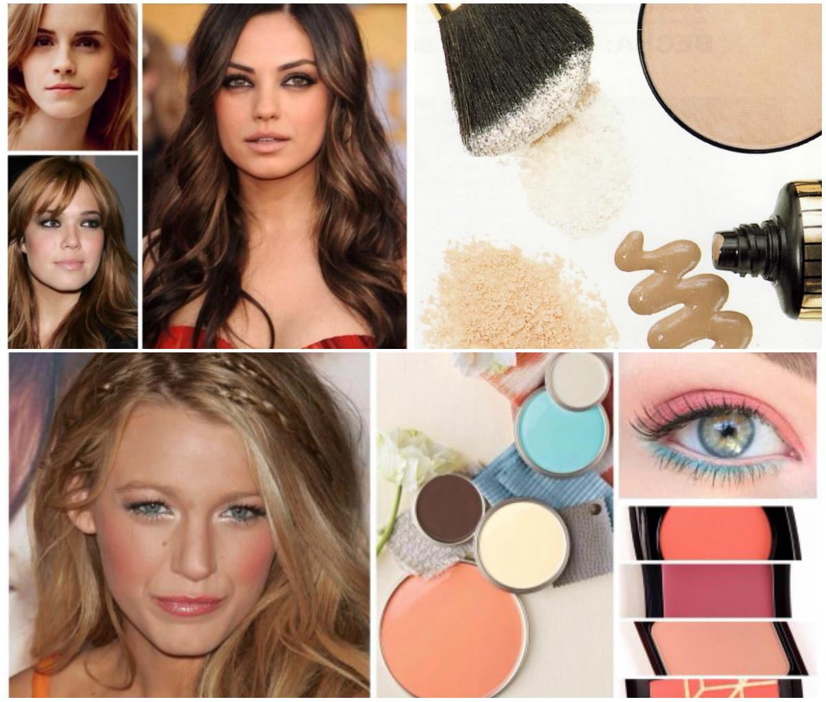 Осенний макияж для осеннего цветотипа фото
